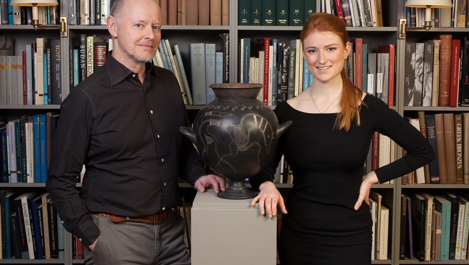 Martin Clist and Charis Tyndall discuss ancient art and modern collecting